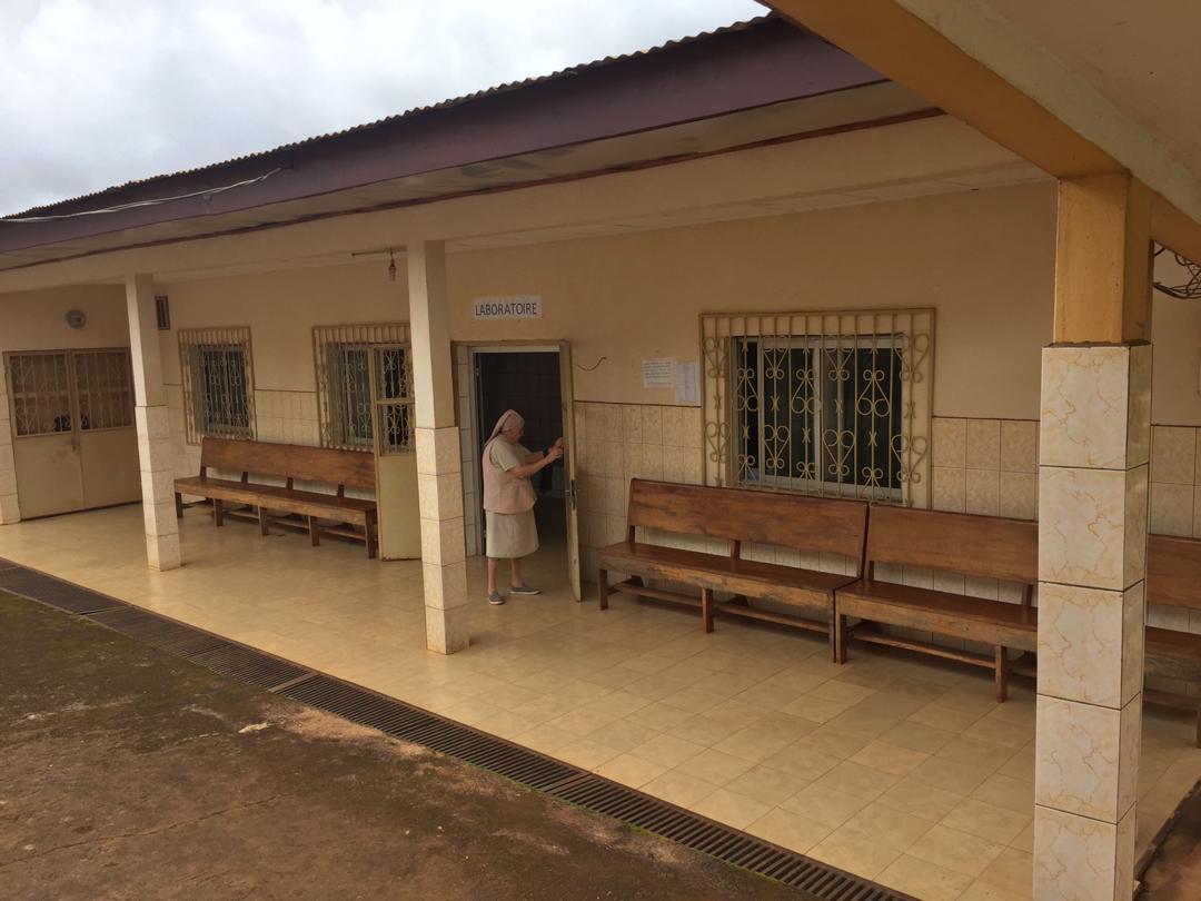 Construcción de un edificio de hospitalización en el Centro de Salud de Kueka