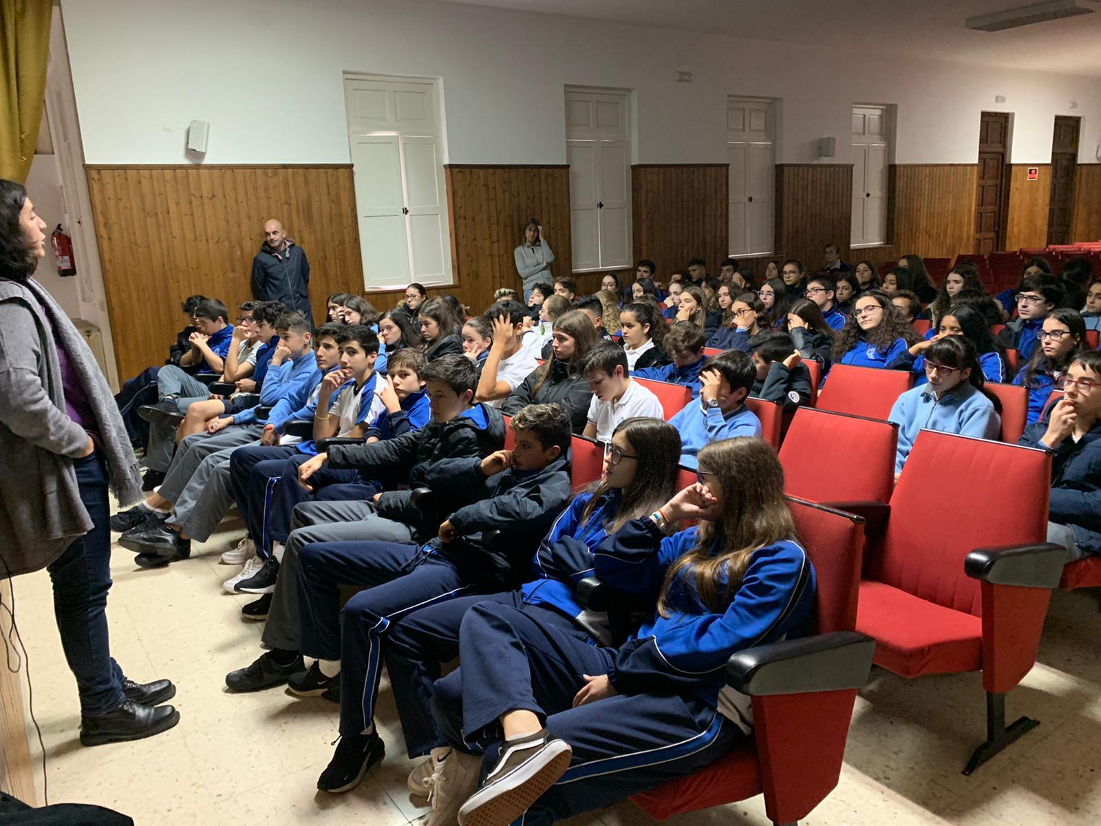 El Colegio de Marín -Pontevedra- celebra el Mes Misionero