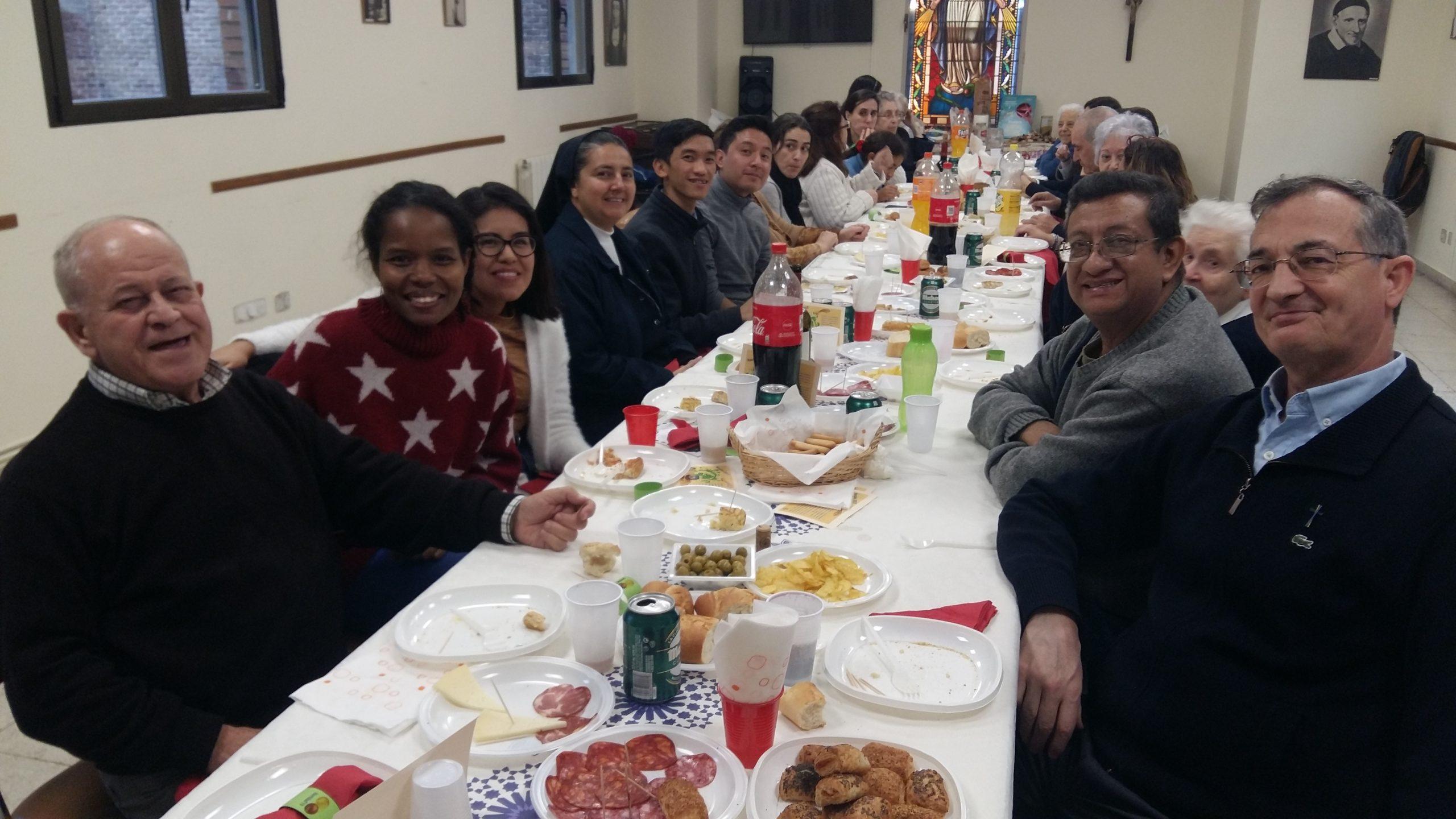 La Familia Vicenciana celebra la Navidad