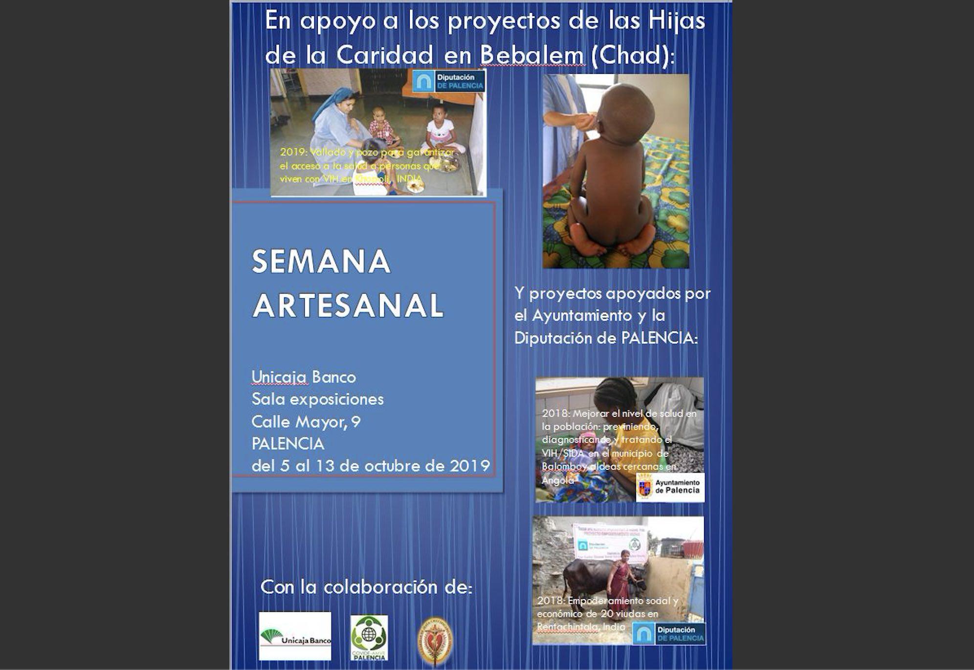 Semana Artesanal Solidaria en Palencia