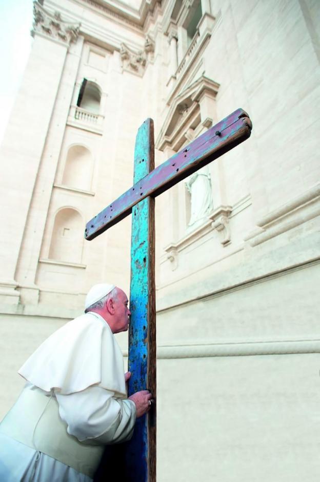 La Cruz de Lampedusa llega a España