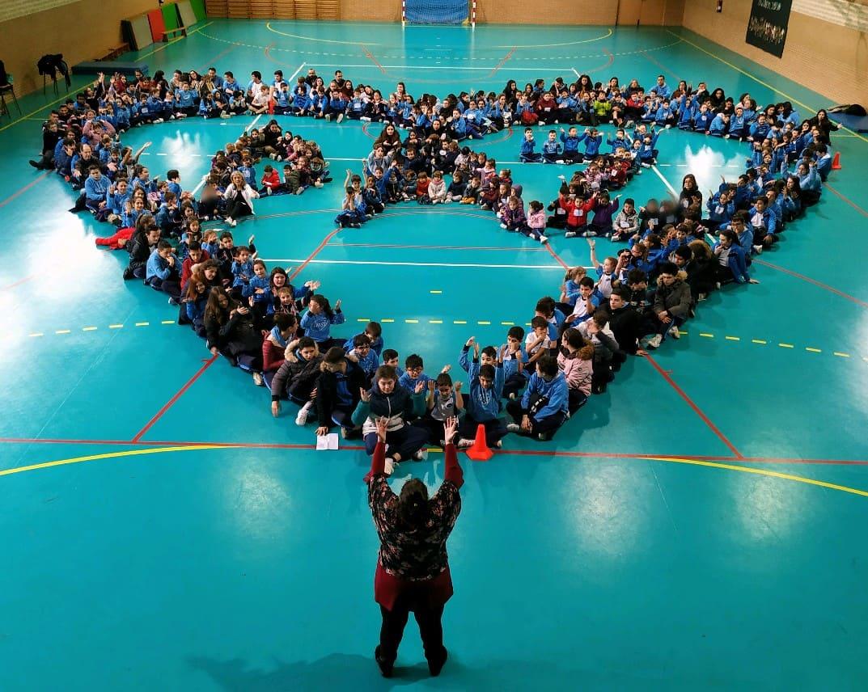 EL Colegio La Milagrosa y Santa Florentina de Valladolid, celebran el día de la PAZ con una Carrera Solidaria