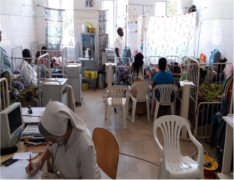 Mejora de la calidad del servicio de la uci pedriatrica del hospital de Balombo