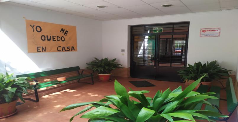 El centro Virgen de Gracia de Puertollano en tiempos de Pandemia