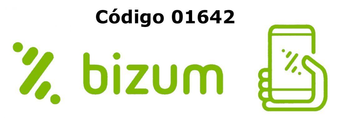 Ahora puedes hacer tus donaciones a través de BIZUM con el código 01642