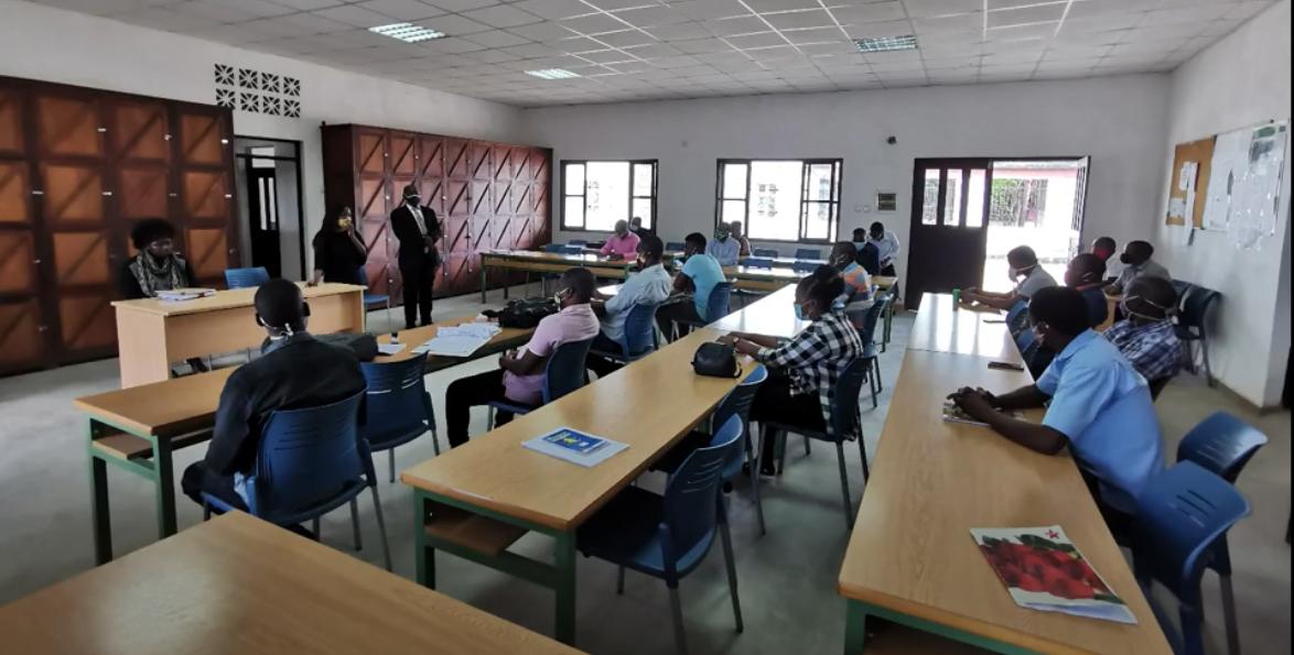 Superación Pedagógica de la COVID19 en el IPMC de Nacuxa, Mozambique