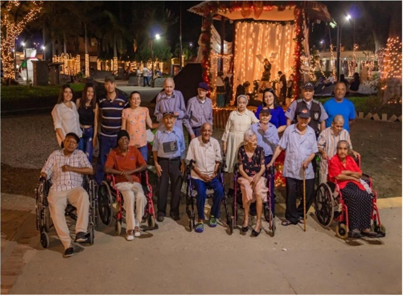 Ayuda al adulto mayor abandonado en Puerto Cortés y Omoa Fase I, Fase II y Fase III