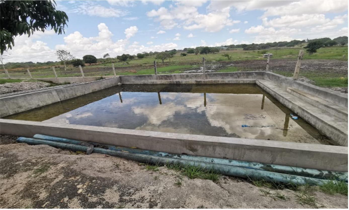 Construcción de tanques para la implementación del curso de FP en Acuacultura en el iInstituto Politécnico Mártir Cipriano