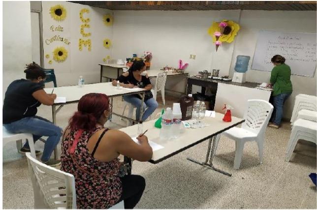 Mujeres empoderadas para vivir libres de violencia de género en San Pedro Sula