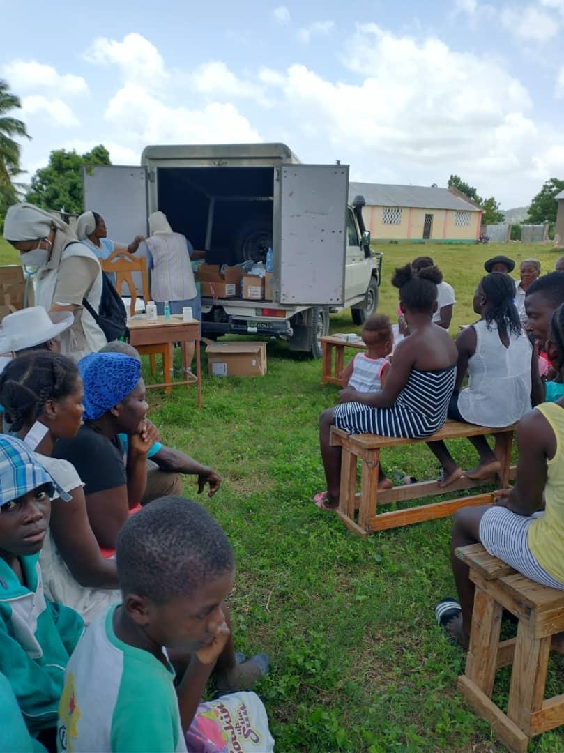 Agradecimiento por los donativos recibidos para la catástrofe de Haití